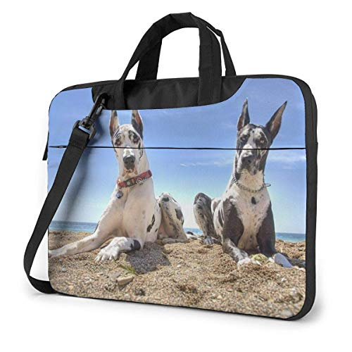 IUBBKI Laptop Case Computer Bag Sleeve Cover Lovely Dog Waterproof Shoulder Briefcase 13 14 15.6 Inch
