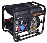 ITCPower IT-DG7800LET Generador Diesel (Full Power), negro