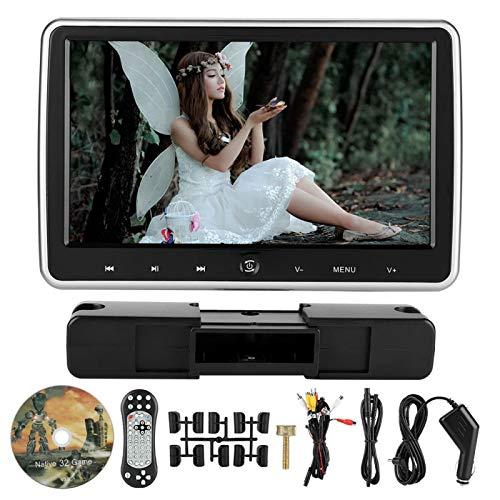 Monitor de reposacabezas duradero Altavoz incorporado DVD de coche externo resistente a la temperatura, para coches, para transporte, para todos los coches