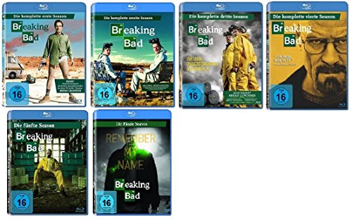 Breaking Bad Staffel 1-5 (1+2+3+4+5.1+5.2) [Blu-ray Set] komplette Serie