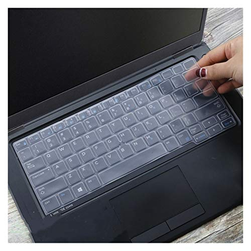 Durable keyboard stickers Silicone Notebook laptop Keyboard cover protector skin For Dell Latitude 5300 7300 7200 3301 3300 5200 2019 2020 Keyboard accessories (Color : Clear)