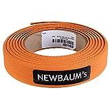 Newbaum's - Cinta de tela acolchada (naranja)
