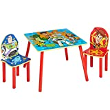 Toy Story 4 Kids Table and 2 Chairs Set by HelloHome, 52.5 x 63 x 63 cm