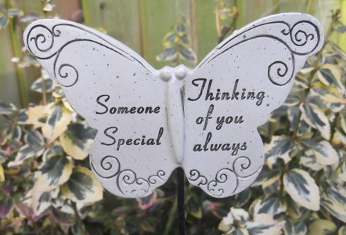 Memorial Butterfly Special Someone Graveside Ornament