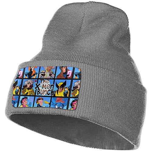 X-M-E-Nbunch con Xavier Knit Hat Sombreros Calientes Beanie Skull Cap Winter Daily Beanie Stocking Hat