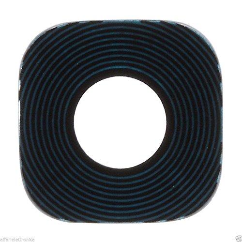 len Lente vetro COVER Camera Fotocamera posteriore con biadesivo COMPATIBILE per SAMSUNG GALAXY S7 G935 SM-G935 NERO