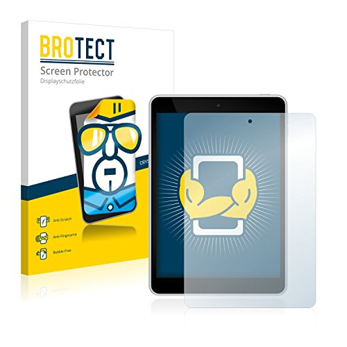 BROTECT Schutzfolie kompatibel mit Nokia N1 (2 Stück) klare Bildschirmschutz-Folie