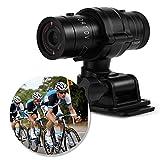 Cámara deportiva DV,cámara para bicicleta impermeable Full HD 1080P con micrófono,mini cámara de video portátil,lente gran angular A+de 120 grados,mini DV deportivo para aventura extrema al aire libre