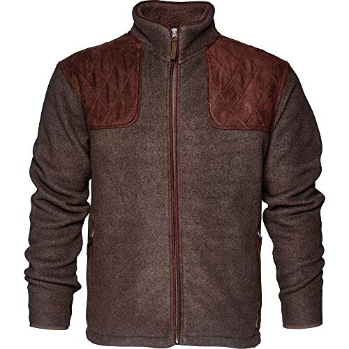 Seeland William II Fleece Jacke Jagdjacke (L, Moose Brown)