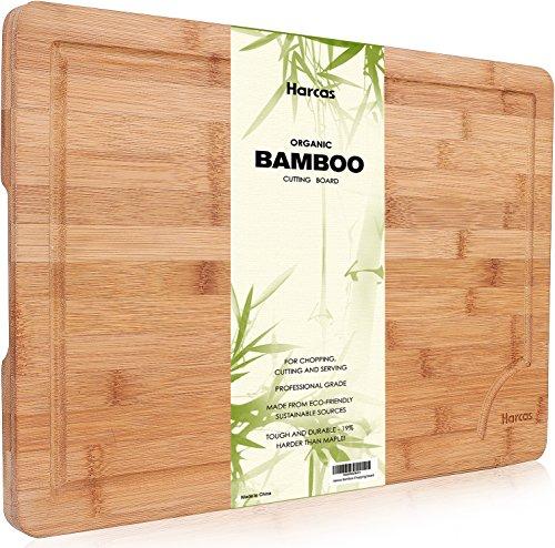 Émoussé Planche à découper en bambou