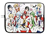 Servamp Anime Laptop Sleeve Bag 11 Inch Tablet & Computer Case - Protects Notebooks & Tablets - Anime Computer Bag - Fit Devices with Up to 11.6 Inch Display