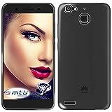 mtb more energy® Schutz-Hülle Clear & Slim für Huawei P8