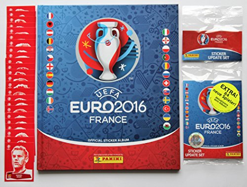 Panini UEFA EURO 2016 France - Hardcover Deluxe Album + Update Set + Set Coca Cola