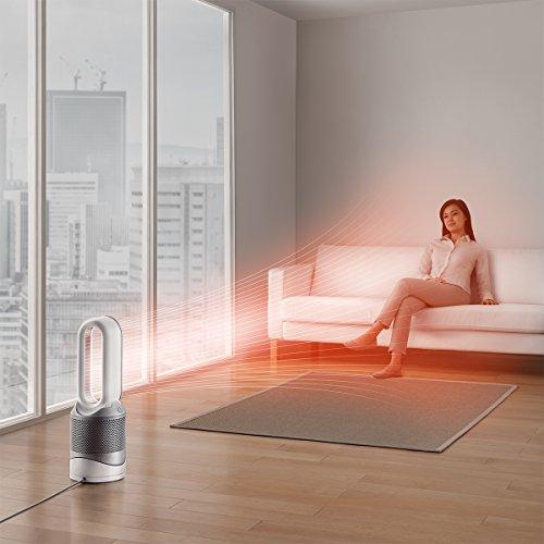 ダイソン空気清浄機能付ファンヒーターDysonPureHot+CoolLinkHP03WSホワイト/シルバー