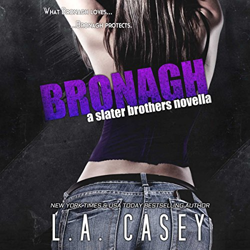 Bronagh audiobook cover art