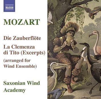 MOZART: Magic Flute (The) / La Clemenza di Tito (arr. for wind ensemble)