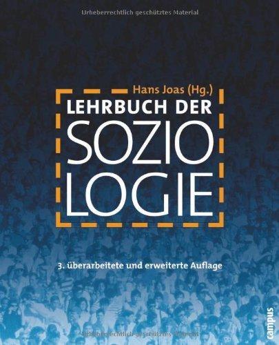 Lehrbuch der Soziologie von Hans Joas (Herausgeber) (12. März 2007) Broschiert