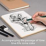 Zoom IMG-2 notizbuch a5 skizzenbuch minimalistischer stil