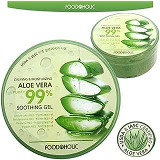 Calming & Moisturizing Aloe Vera Purity 99% Soothing Gel 300ml