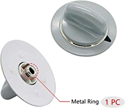 Replacement Timer Control Knob WE1M964 with Reinforced Metal Ring By AMI Exact for GE Dryer AP4980845 PS3487132