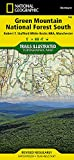Green Mountain National Forest South [Robert T. Stafford White Rocks National Recreation Area, Manchester] (National Geographic Trails Illustrated Map, 748)