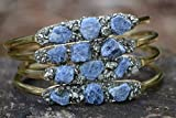 Sapphire Bracelet for Women, Handmade Gemstone Jewelry, Natural Sapphire Jewelry