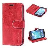 Mulbess Samsung Galaxy S4 Case Wallet, Leather Flip Phone