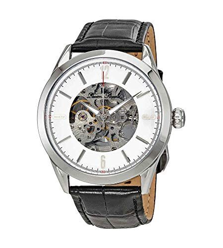 Lucien Piccard Automatic Skeleton Dial Men's Watch LP-10660A-02S-W