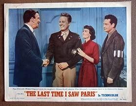 Best the last time i saw paris 1954 Reviews