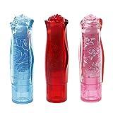 NKYSM Radiergummis Neuheit Rose Love Lippenstift Form Radierer,Erasers für Schulamt Schreibwaren Geschenk