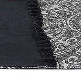 GJEFEGS vidaXL Kelim-Teppich Baumwolle 160x230 cm mit Muster Grau - 2