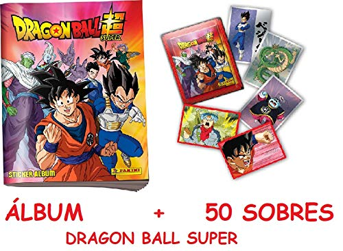 Dragon Ball Super 2020 Caja 50 Sobres (Cromos) + Album