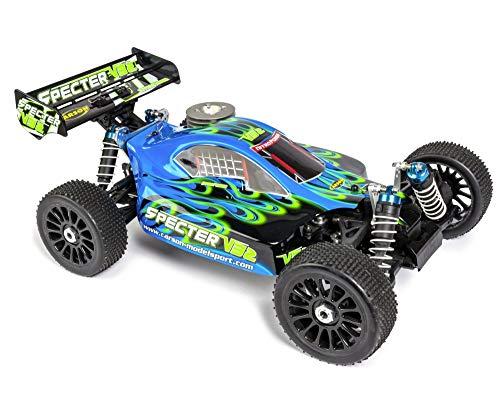 Carson 500204034 500204034-1:8 CY Specter 3.0 V32 2.4G RTR, Ferngesteuertes Auto, RC-Fahrzeug, blau|schwarz