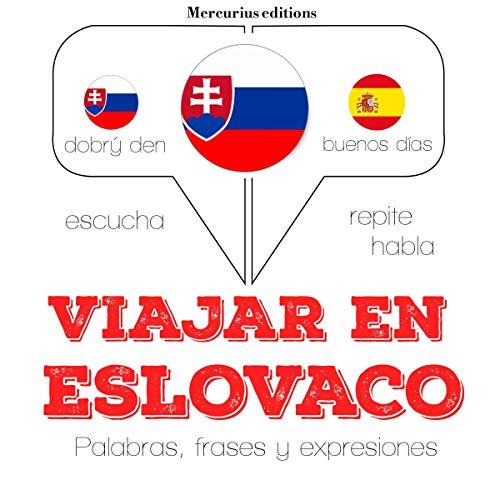 Viajar en eslovaco audiobook cover art