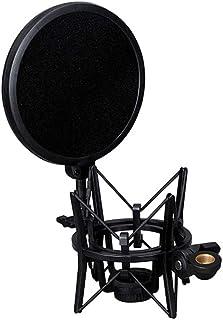 Docooler SH-100 Microphone Professional Shock Mount Portable Mic Shock Holder for Long Thread Microphones