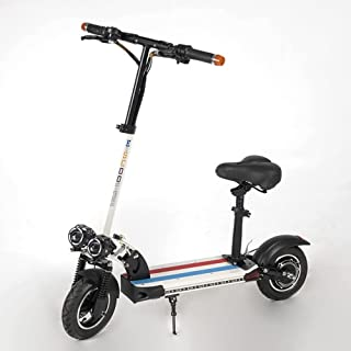 Electric Scooter 10 inches, 800W Power Electric Scooter Adults, 30KM Battery Life, Maximum Speed 30KM/Hour