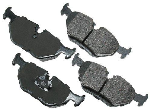 Akebono EUR396 Euro Ultra Premium Ceramic Disc Brake Pad Kit
