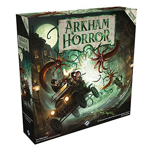 Arkham Horror 3.Edition - Grundspiel - Deutsche Version FFGD1034 Asmodee Arkham Horror 3. Edition, Grundspiel, Expertenspiel, Deutsch