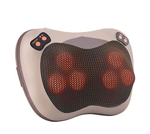 YSCCSY Massage Kissen Vibrieren Neck Körper Massager Hammer Kissen Shiatsu Elektro-Shoulder Rückenmassage Massagem Car/Home