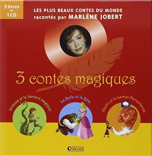 3 contes magiques: Jacques et le haricot magique, La Belle et le Bête et Aladin et la lampe merveilleuse