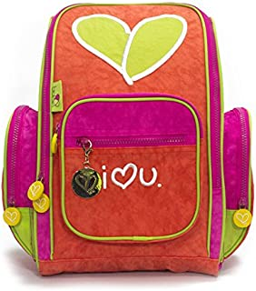Biglove Small Kids Backpack, Love, Multi-Colored