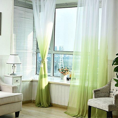 cortinas salon verde amarillo