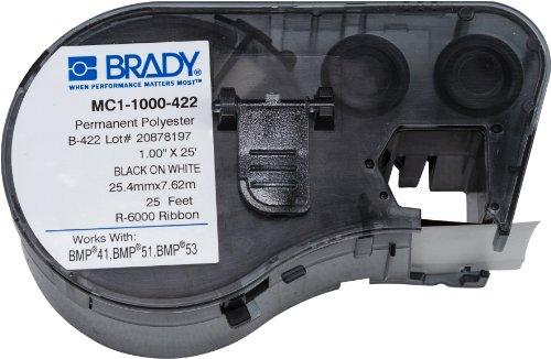 Brady MC1-1000-422 Etiketten für BMP41/BMP51/BMP53 Etikettendrucker