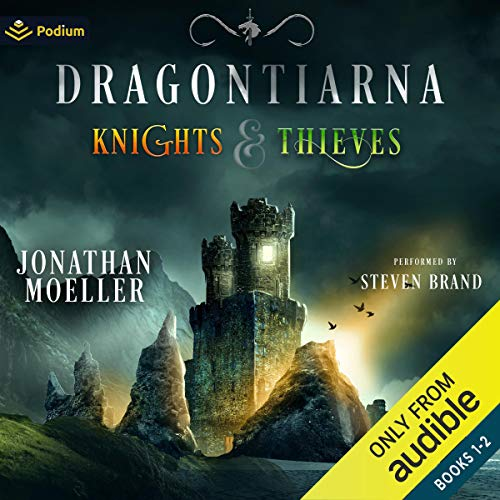 Dragontiarna: Knights & Thieves, Publisher's Pack cover art