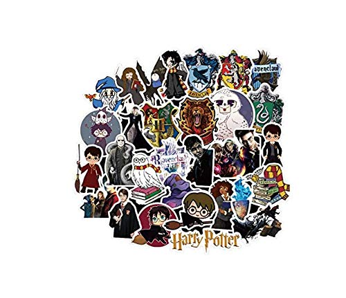 Harry Potter Sticker Anime Cartoon Leuke Stickers Voor Kinderen Naar Laptop Koffer Gitaar Koelkast Fiets Auto 30 Stks/Set