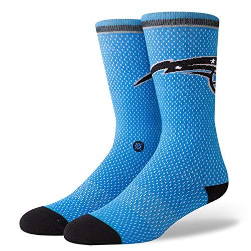 Stance M545D18MAG Men's Magic Jersey Socks, Blue - Large