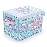 YOURNELO Japanese Cartoon Lovely Snacks Storage Box Sundries Desk Organizer Accessories (Tuxedo Sam Blue)