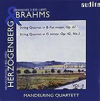 Brahms/Herzonberg: Quartets