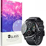 Compatible for Honor Magic Watch 2 46mm Screen Protector, Blueshaw 9H Tempered Glass Screen Protector for Huawei Honor Watch Magic Watch 2 46mm / 42mm (46mm case-3 pack)