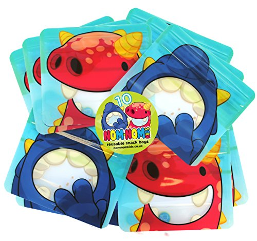 Reusable snack bags for Baby Led Weaning, toddlers & school snacks PACK of...